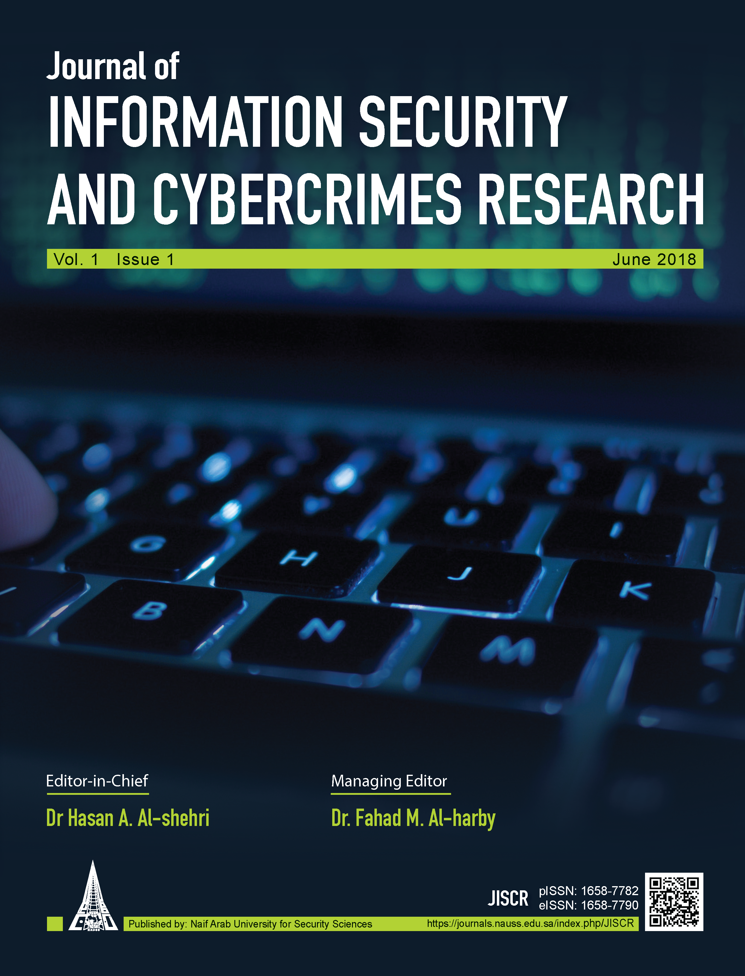Journal of Information Security and Cybercrimes Research